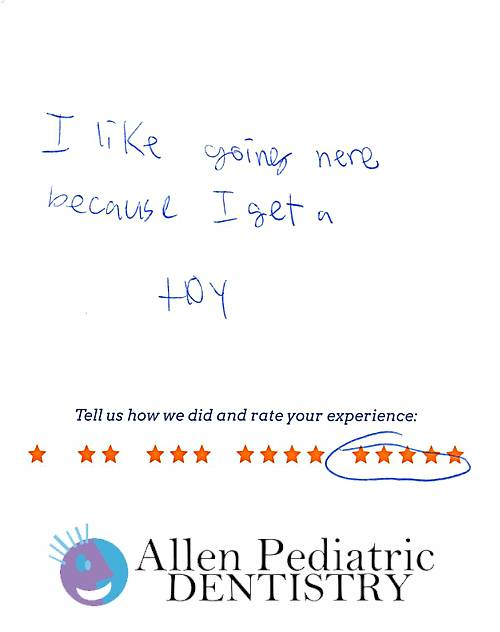 Allen Pediatric Dentistry review by Isabel S. in Allen, TX on May 12, 2017