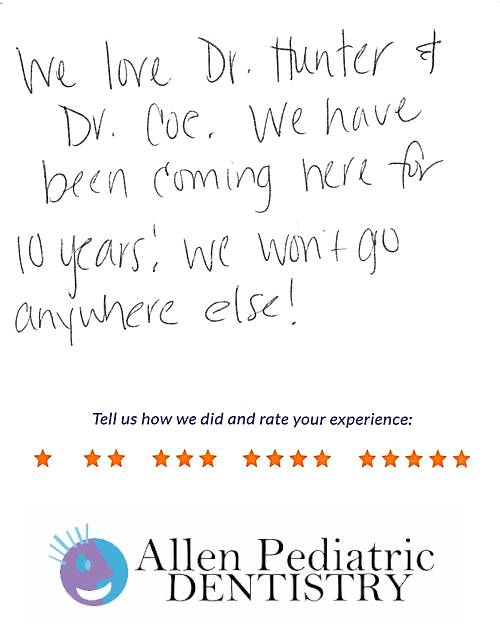 Allen Pediatric Dentistry review by Shelby S. in Allen, TX on May 12, 2017