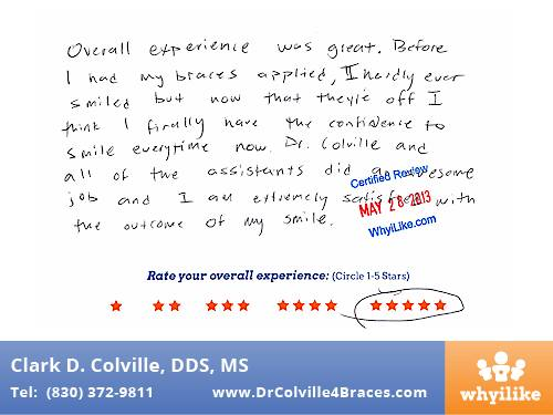 Orthodontic Specialist of Seguin Patient Review by Jose D