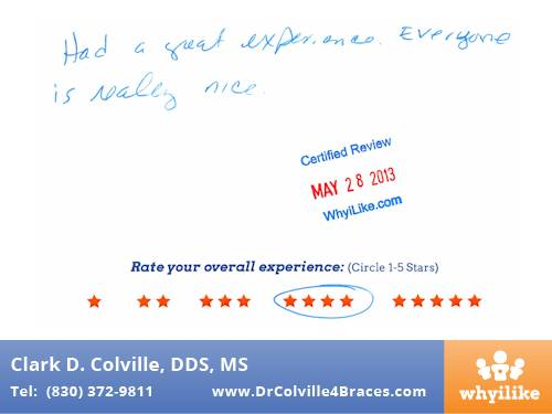 Orthodontic Specialists of Seguin Patient Review by Kyle W