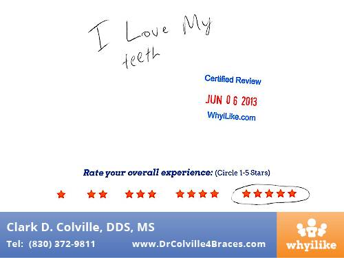 Orthodontic Specialists of Seguin Patient Review By Kyle H
