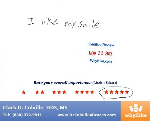 Orthodontic Specialists of Seguin review by Andrew H. in Seguin, TX