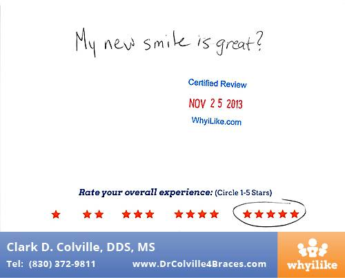 Orthodontic Specialists of Seguin review by Zachary H. in Seguin, TX