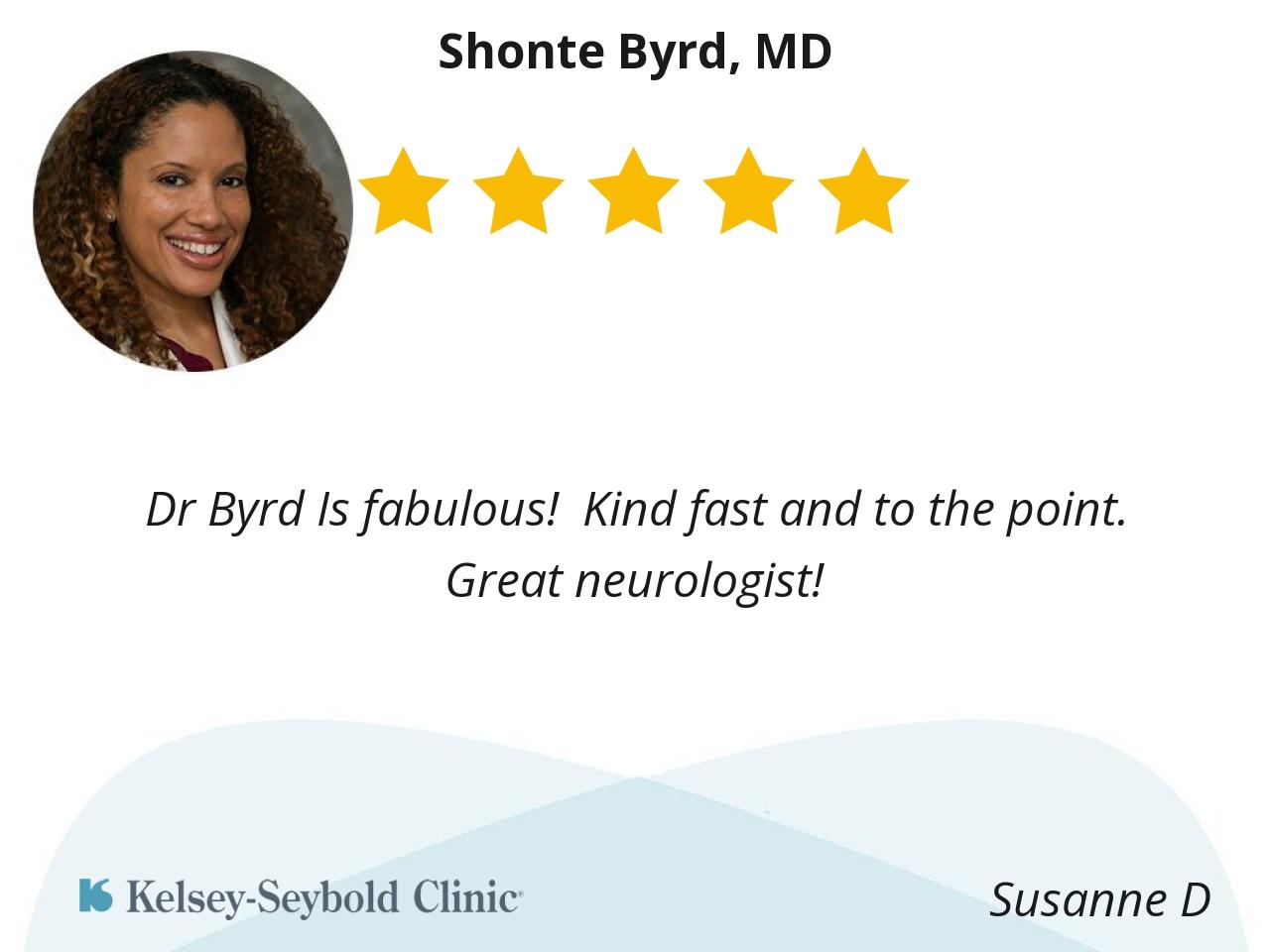 Shonte Byrd, MD | Houston Neurologist | Kelsey-Seybold Clinic