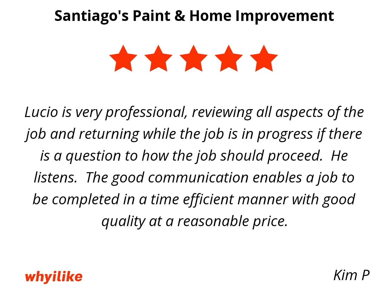 Why I Like Santiago S Paint Home Improvement